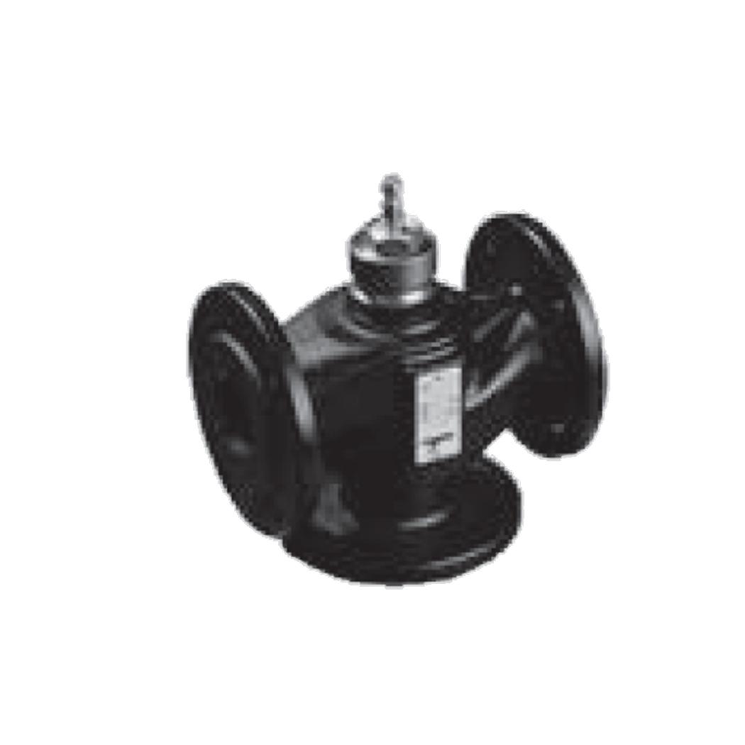 AG 3-Wege-Ventil mit Flanschanschluss nach ISO 7005